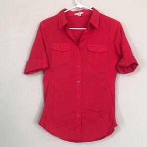 Zenana outfitters button down shirt